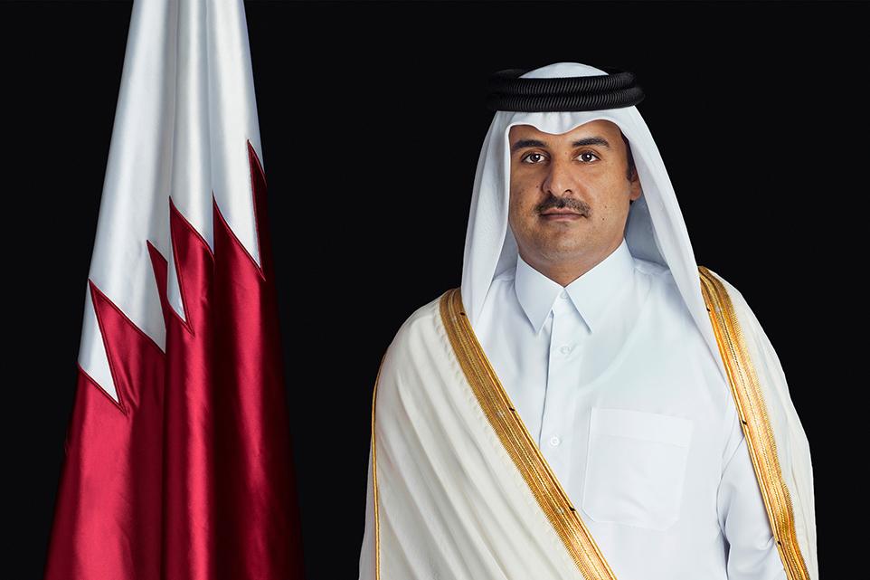 HH The Amir Congratulates President of Latvia bc800b2f38a
